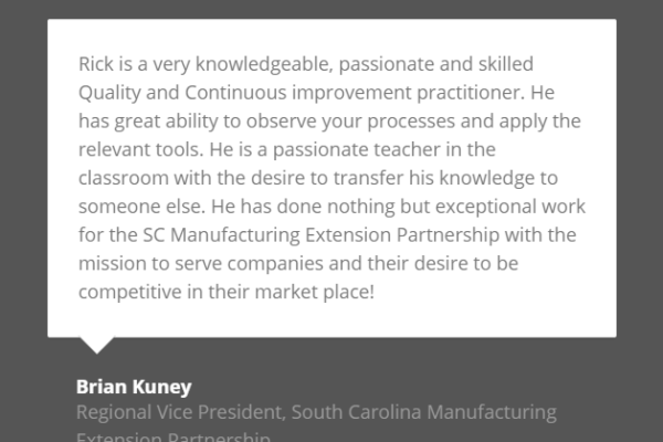 quality improvement charleston sc testimonial