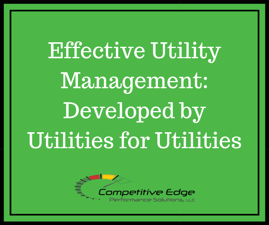 effective utility management competitive edge performance solutions